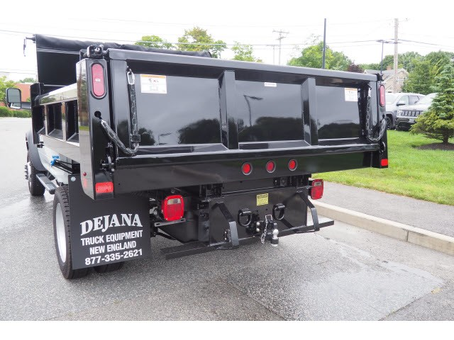 2018 Ram 5500 Regular Cab DRW 4x4,  Rugby Eliminator LP Steel Dump Body #17623 - photo 12