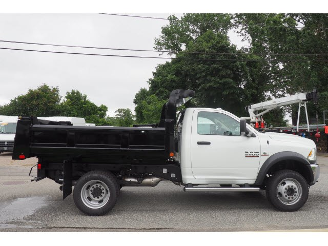 2018 Ram 5500 Regular Cab DRW 4x4,  Rugby Eliminator LP Steel Dump Body #17623 - photo 5