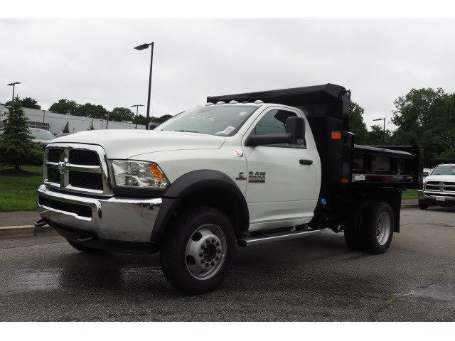 2018 Ram 5500 Regular Cab DRW 4x4,  Rugby Dump Body #17623 - photo 7