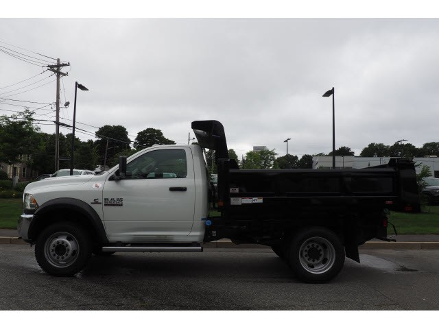 2018 Ram 5500 Regular Cab DRW 4x4,  Rugby Eliminator LP Steel Dump Body #17623 - photo 8