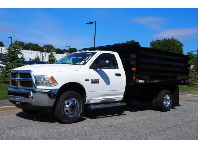 2018 Ram 3500 Regular Cab DRW 4x4,  Rugby Landscape Dump #17706 - photo 3