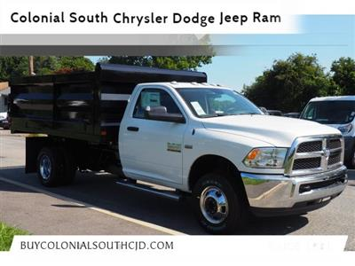 2018 Ram 3500 Regular Cab DRW 4x4,  Rugby Landscape Dump #17706 - photo 1