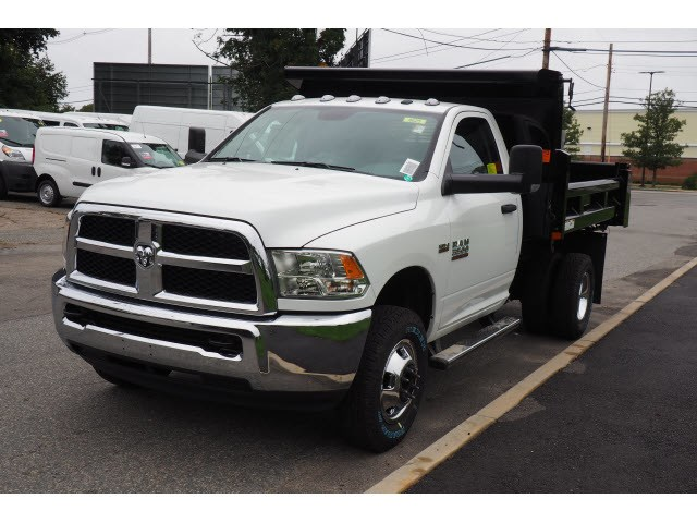 2018 Ram 3500 Regular Cab DRW 4x4,  Rugby Dump Body #17805 - photo 7