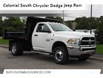 2018 Ram 3500 Regular Cab DRW 4x4,  Rugby Dump Body #17805 - photo 1