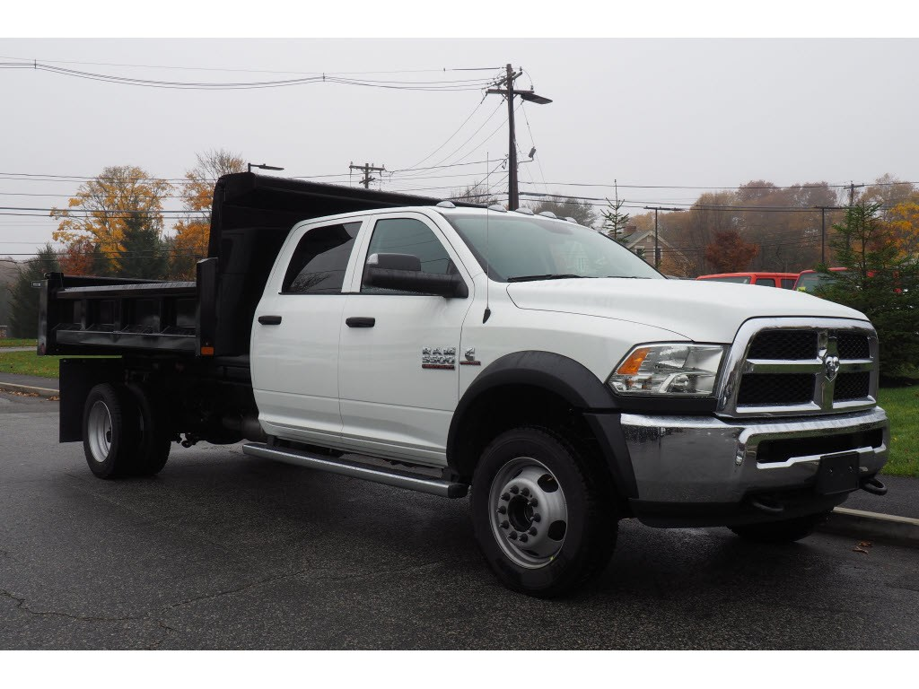2018 Ram 5500 Crew Cab DRW 4x4,  Dump Body #17861 - photo 3