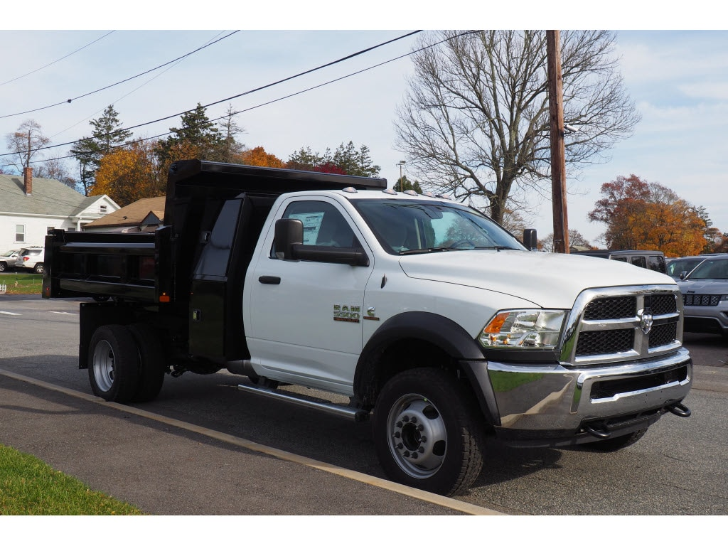 2018 Ram 5500 Regular Cab DRW 4x4,  Rugby Dump Body #17890 - photo 3