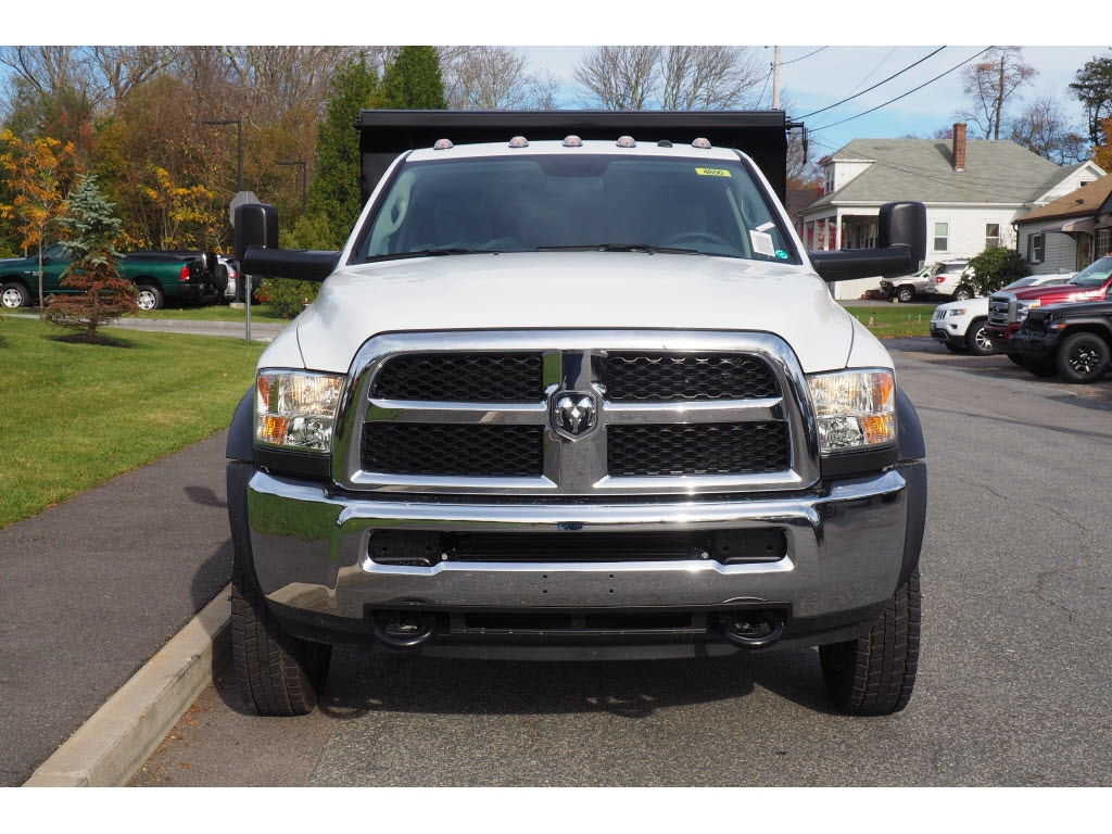2018 Ram 5500 Regular Cab DRW 4x4,  Rugby Dump Body #17890 - photo 4