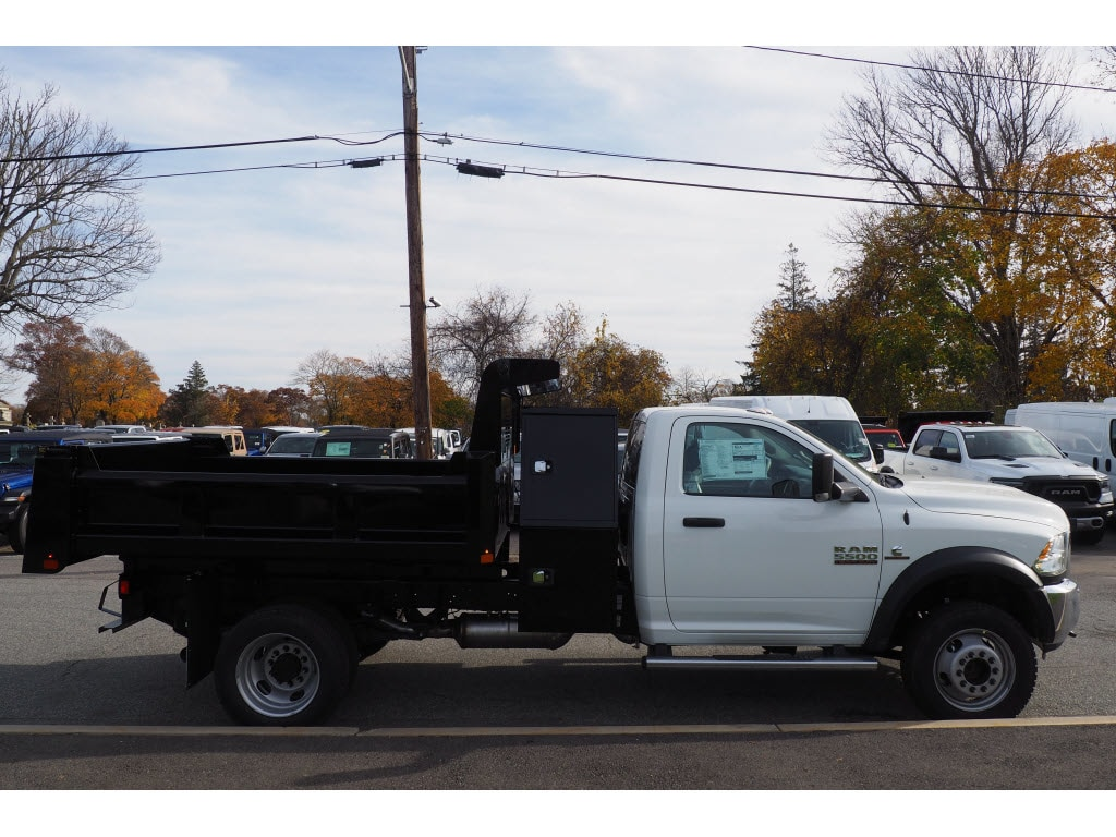 2018 Ram 5500 Regular Cab DRW 4x4,  Rugby Dump Body #17890 - photo 5