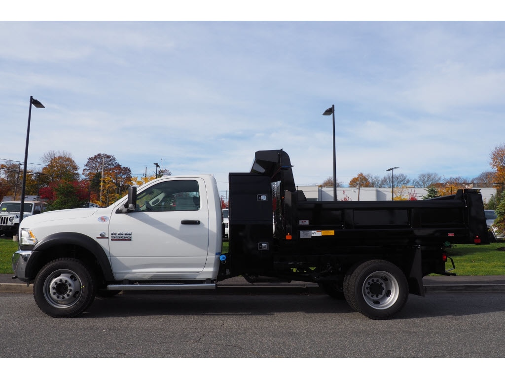 2018 Ram 5500 Regular Cab DRW 4x4,  Rugby Dump Body #17890 - photo 8