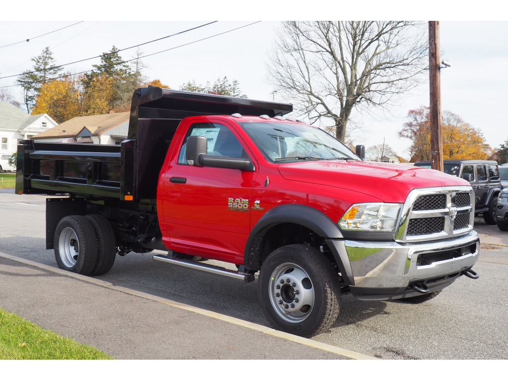 2018 Ram 5500 Regular Cab DRW 4x4,  Rugby Dump Body #17891 - photo 3