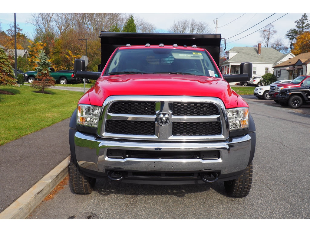 2018 Ram 5500 Regular Cab DRW 4x4,  Rugby Dump Body #17891 - photo 4