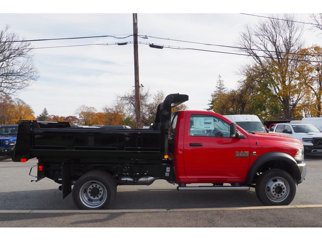 2018 Ram 5500 Regular Cab DRW 4x4,  Rugby Dump Body #17891 - photo 8