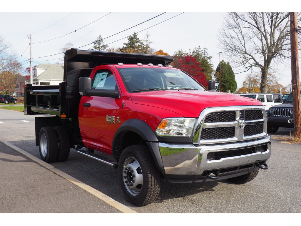 2018 Ram 5500 Regular Cab DRW 4x4,  Rugby Dump Body #17891 - photo 9
