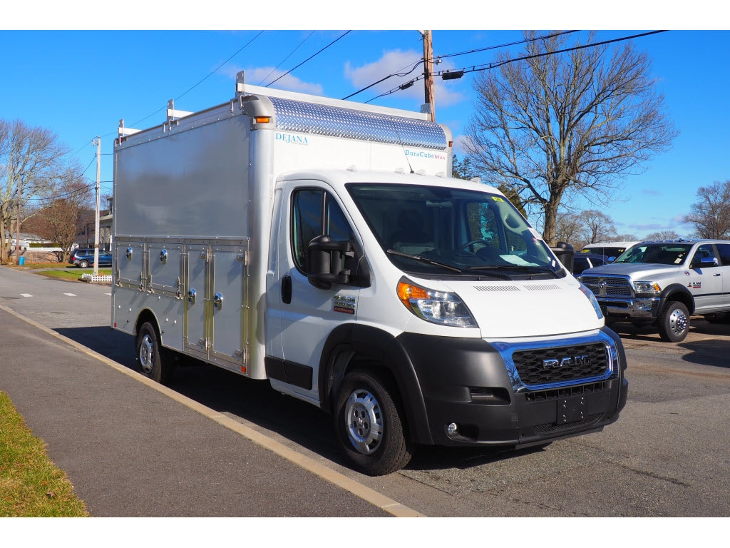 2019 ProMaster 3500 Standard Roof FWD,  Dejana Truck & Utility Equipment Service Utility Van #17963 - photo 3