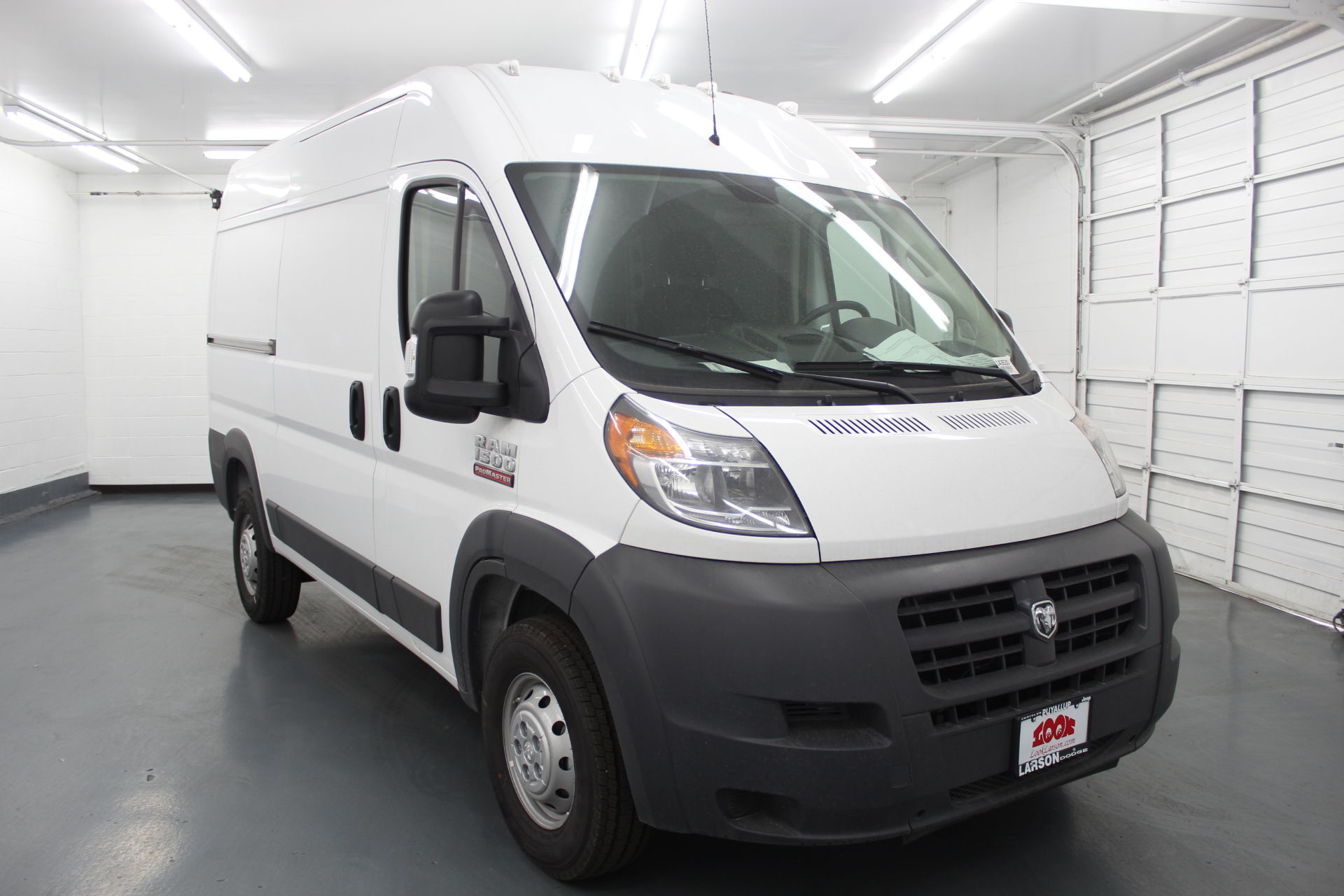 2018 ProMaster 1500 High Roof FWD,  Empty Cargo Van #143530 - photo 3