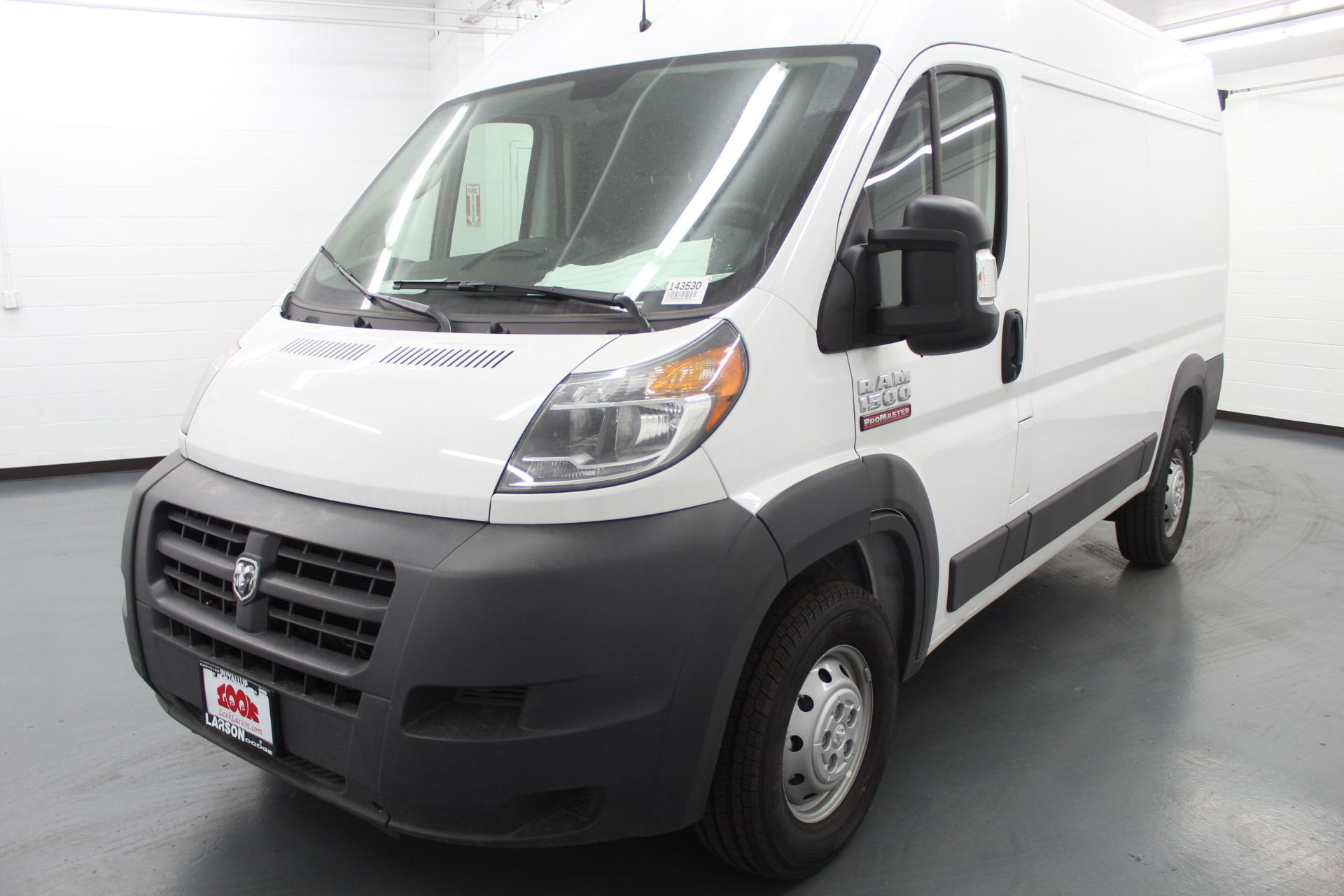 2018 ProMaster 1500 High Roof FWD,  Empty Cargo Van #143530 - photo 1