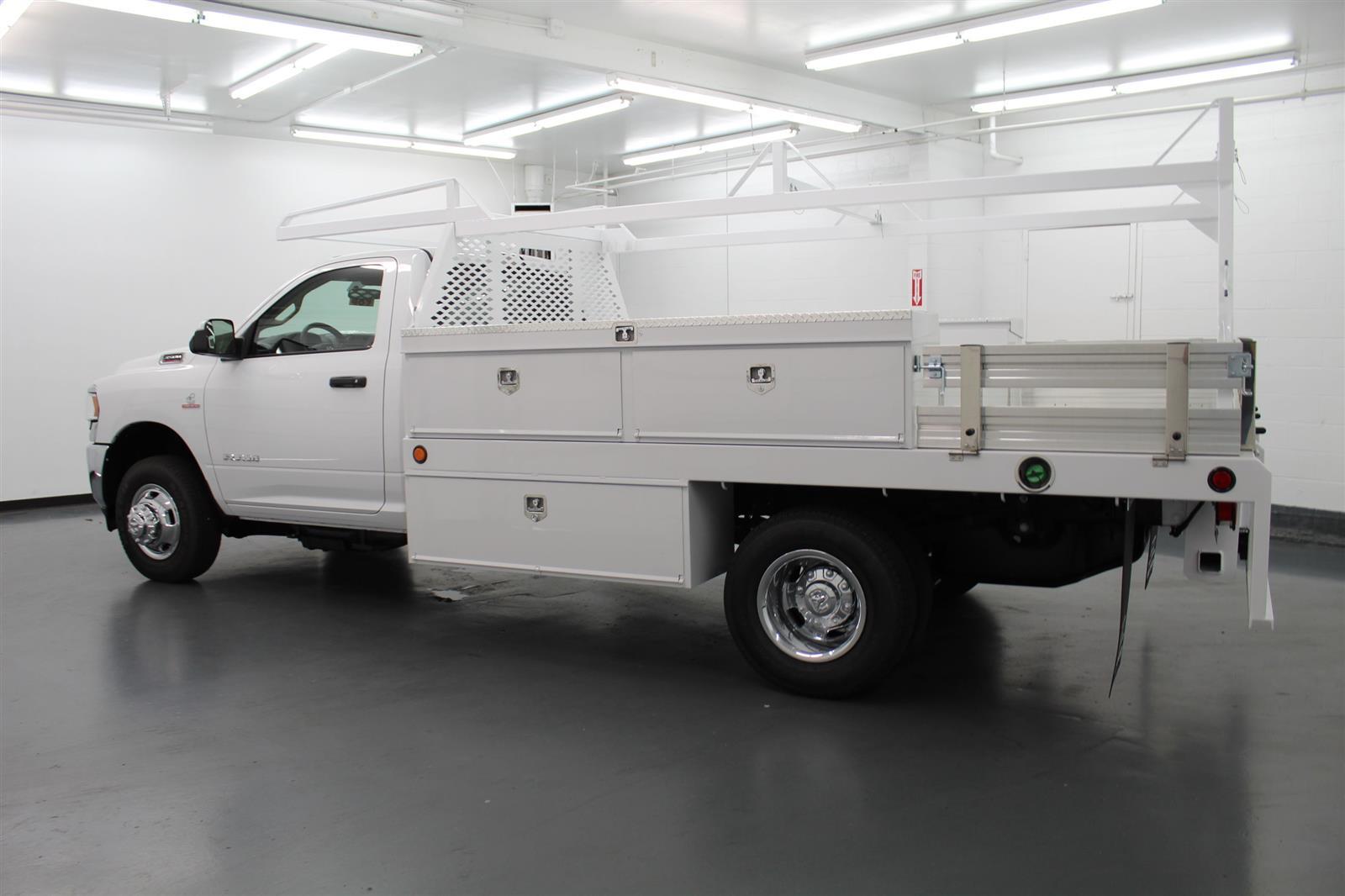2020 Ram 3500 Regular Cab DRW 4x4, Scelzi Contractor Body #162365 - photo 1