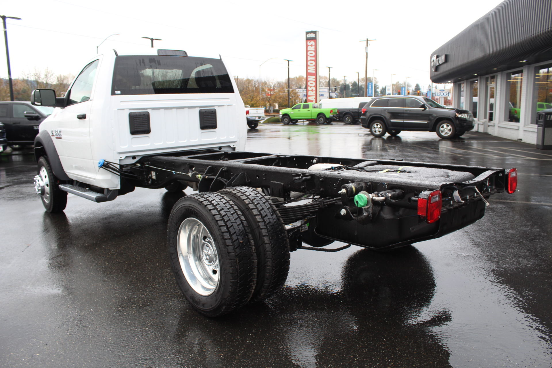 2018 Ram 4500 Regular Cab DRW 4x4,  Cab Chassis #371979 - photo 2