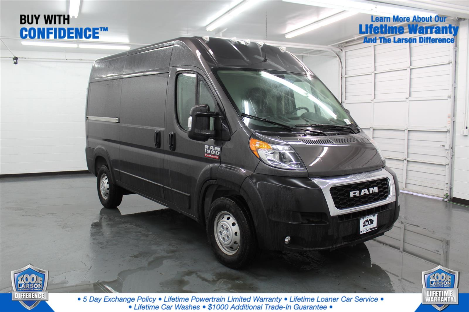 2020 Ram ProMaster 1500 High Roof FWD, Upfitted Cargo Van #LE148661 - photo 1