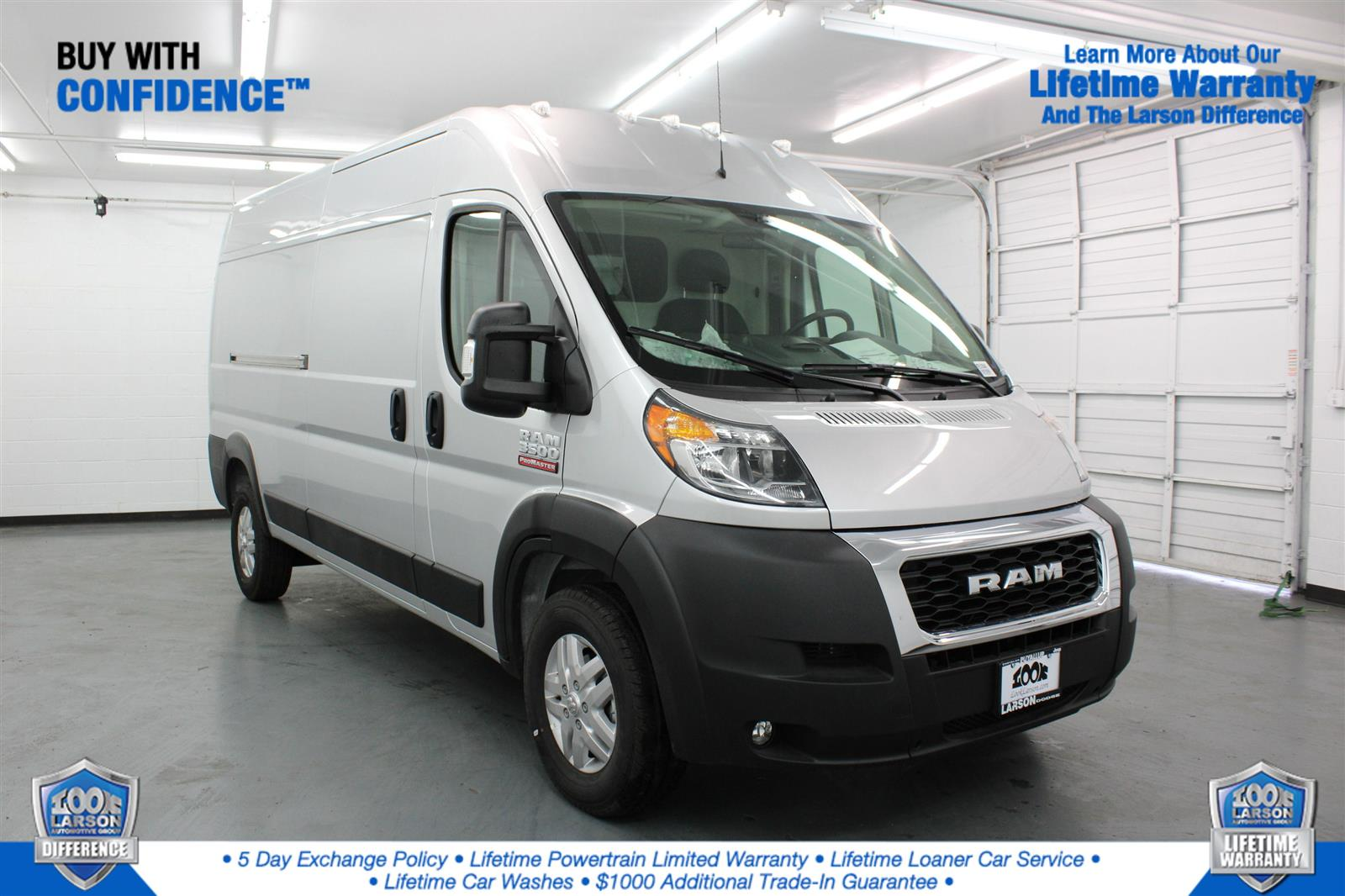 2021 Ram ProMaster 3500 FWD, Empty Cargo Van #ME519546 - photo 1