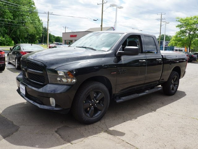 2018 Ram 1500 Quad Cab 4x4,  Pickup #18C1001 - photo 4