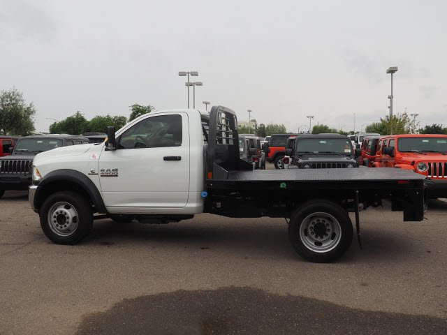 2018 Ram 4500 Regular Cab DRW 4x2,  CM Truck Beds Platform Body #D84507 - photo 4