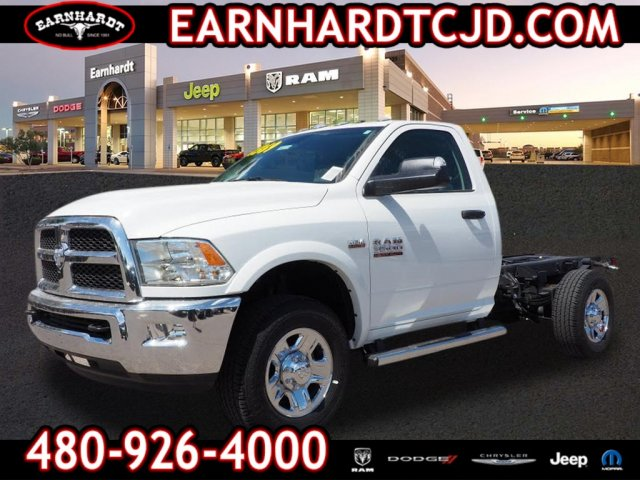 2018 Ram 3500 Regular Cab 4x2,  Cab Chassis #D85129 - photo 1