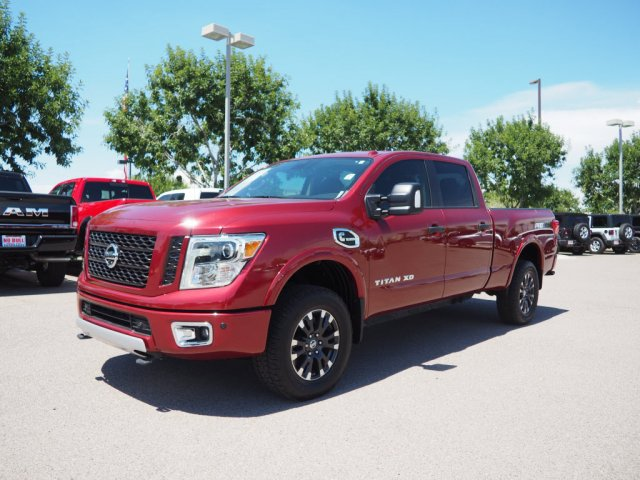 2017 Titan XD Crew Cab,  Pickup #D92608A - photo 4