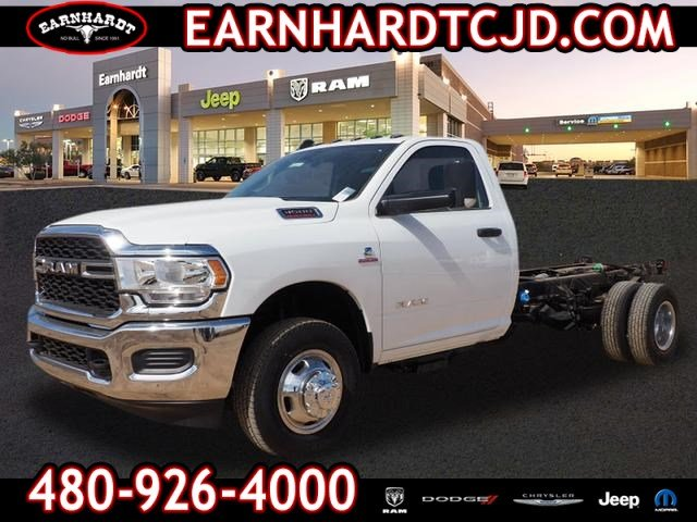 2019 Ram 3500 Regular Cab DRW 4x2, Cab Chassis #D93521 - photo 1