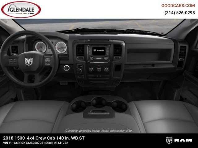 2018 Ram 1500 Crew Cab 4x4,  Pickup #4J1082 - photo 14