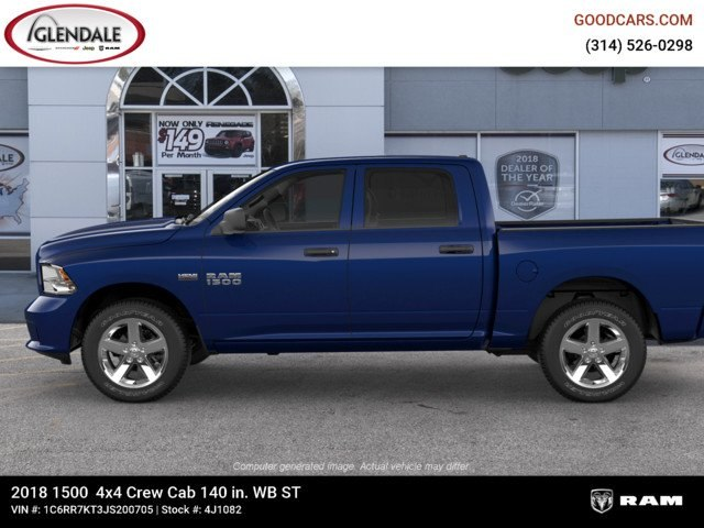2018 Ram 1500 Crew Cab 4x4,  Pickup #4J1082 - photo 5