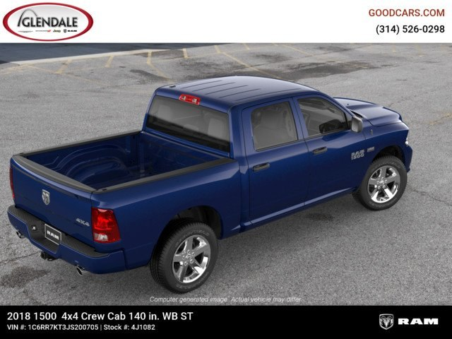2018 Ram 1500 Crew Cab 4x4,  Pickup #4J1082 - photo 9