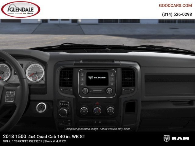 2018 Ram 1500 Quad Cab 4x4,  Pickup #4J1121 - photo 13