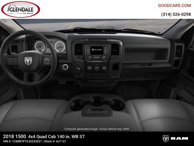 2018 Ram 1500 Quad Cab 4x4,  Pickup #4J1121 - photo 14