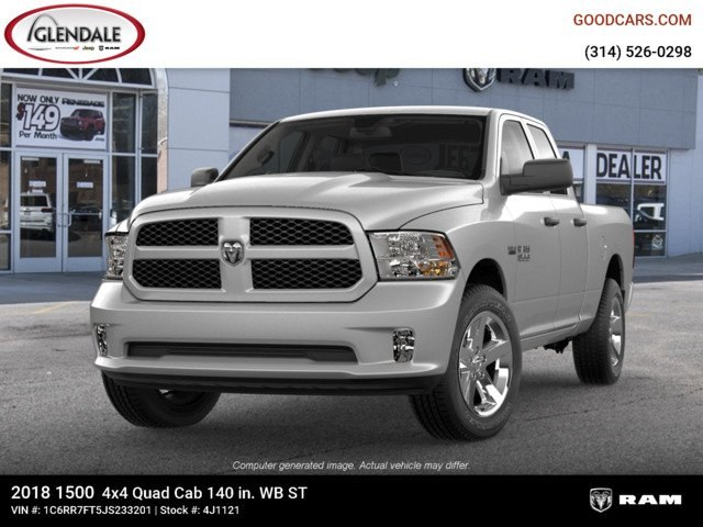 2018 Ram 1500 Quad Cab 4x4,  Pickup #4J1121 - photo 4