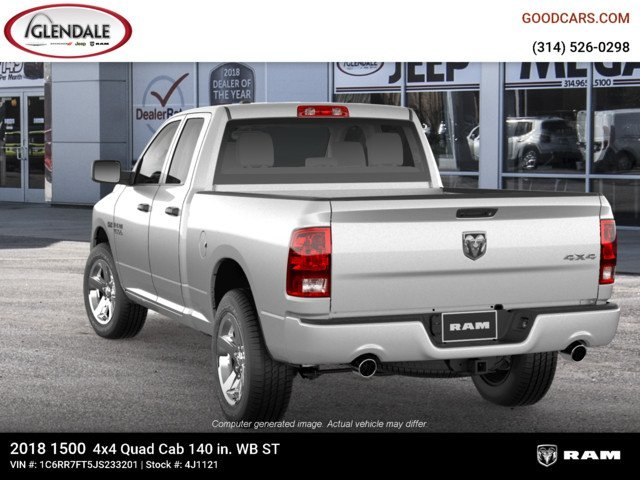 2018 Ram 1500 Quad Cab 4x4,  Pickup #4J1121 - photo 6