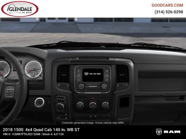 2018 Ram 1500 Quad Cab 4x4,  Pickup #4J1124 - photo 13
