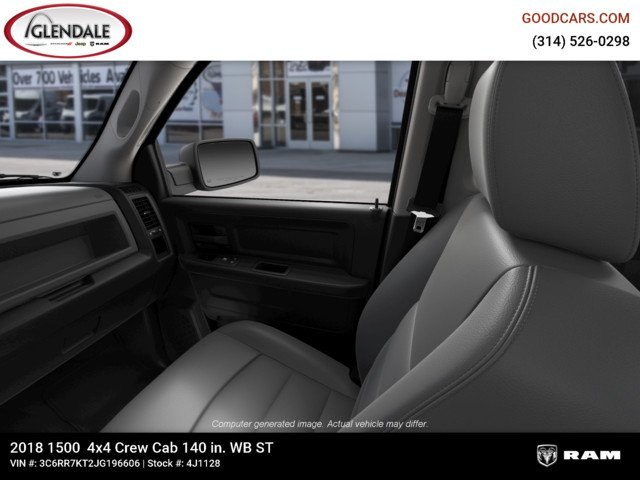 2018 Ram 1500 Crew Cab 4x4,  Pickup #4J1128 - photo 17