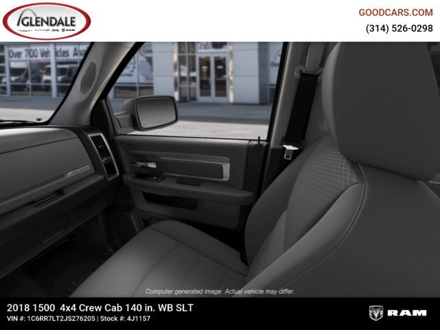 2018 Ram 1500 Crew Cab 4x4,  Pickup #4J1157 - photo 14