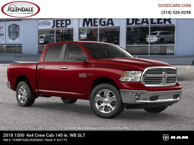 2018 Ram 1500 Crew Cab 4x4,  Pickup #4J1172 - photo 11