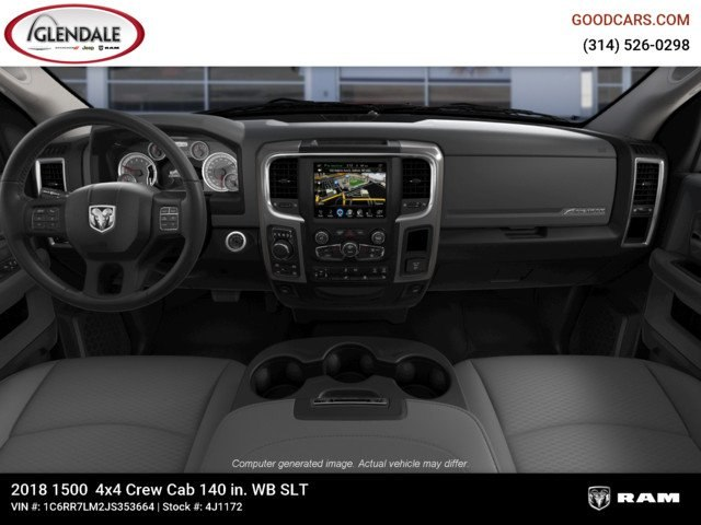 2018 Ram 1500 Crew Cab 4x4,  Pickup #4J1172 - photo 14