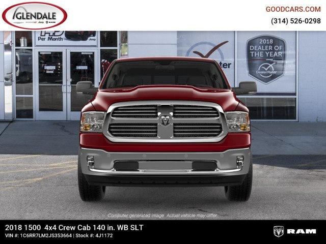 2018 Ram 1500 Crew Cab 4x4,  Pickup #4J1172 - photo 3