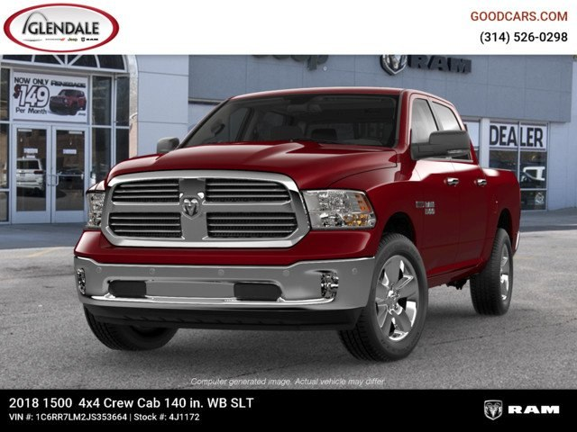 2018 Ram 1500 Crew Cab 4x4,  Pickup #4J1172 - photo 4