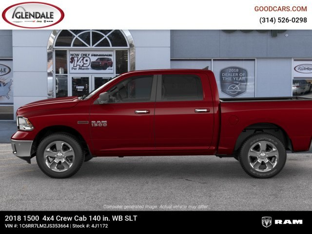 2018 Ram 1500 Crew Cab 4x4,  Pickup #4J1172 - photo 5