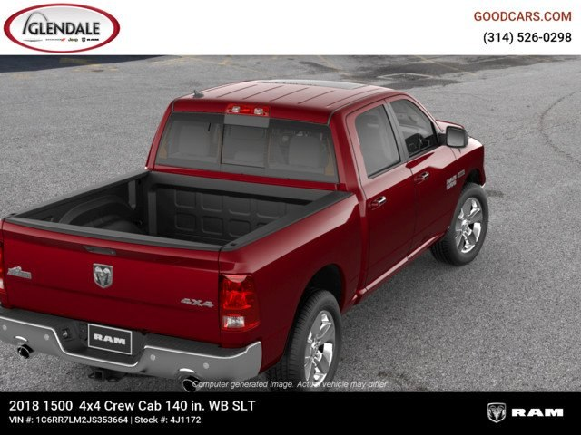 2018 Ram 1500 Crew Cab 4x4,  Pickup #4J1172 - photo 8