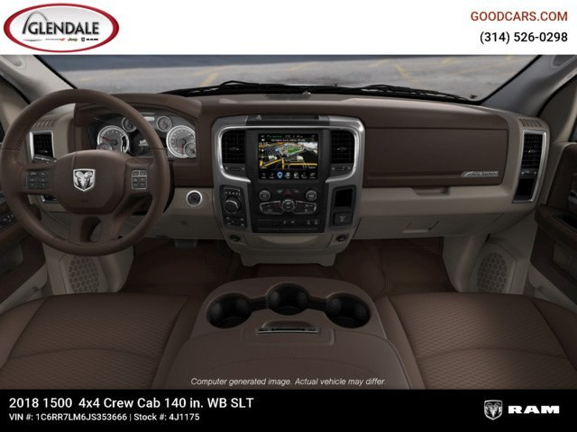 2018 Ram 1500 Crew Cab 4x4,  Pickup #4J1175 - photo 14