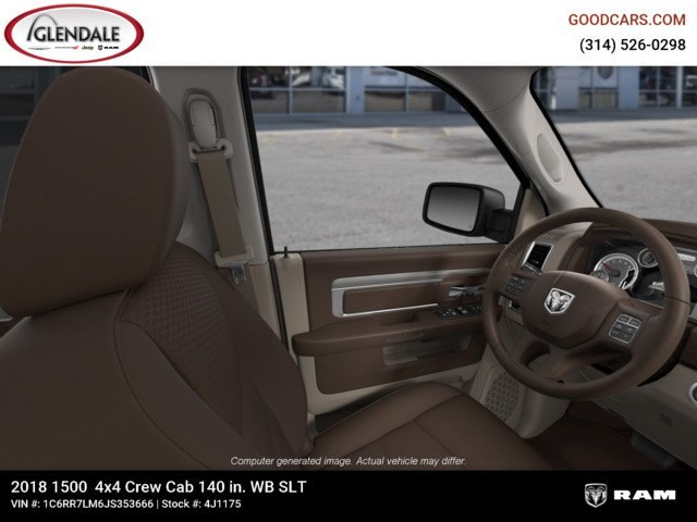 2018 Ram 1500 Crew Cab 4x4,  Pickup #4J1175 - photo 18