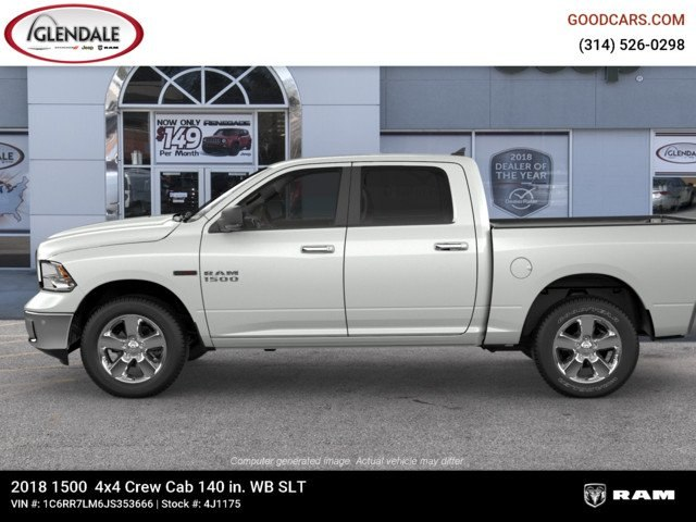2018 Ram 1500 Crew Cab 4x4,  Pickup #4J1175 - photo 5