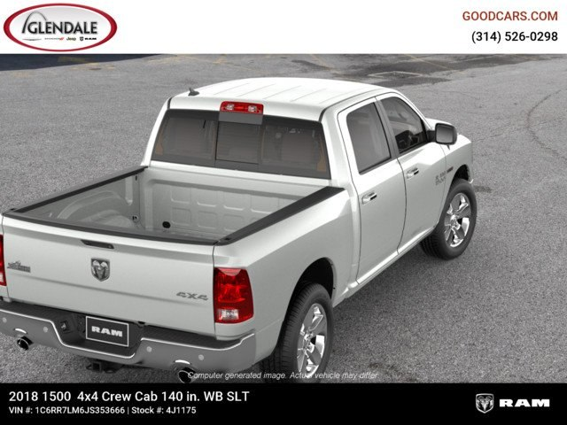 2018 Ram 1500 Crew Cab 4x4,  Pickup #4J1175 - photo 8