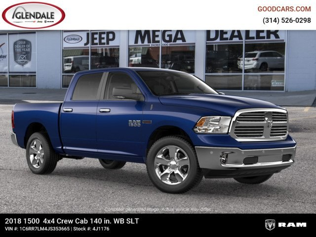 2018 Ram 1500 Crew Cab 4x4,  Pickup #4J1176 - photo 11